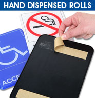 Hand Dispensed Rolls Tape