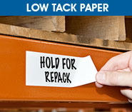 Low Tack Paper Tape