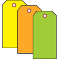 Uline Fluorescent Tags