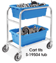 Cross Stack Tub Cart