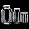 Wide-Mouth Glass Jars