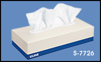 ULINE Facial Tissue