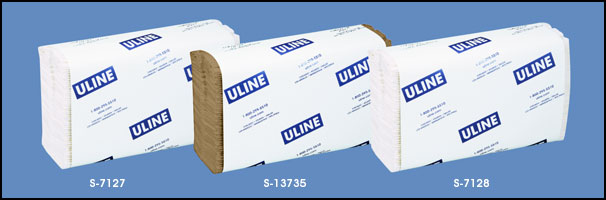 ULINE Folded Towels