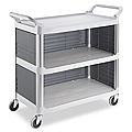 Rubbermaid® Enclosed Service Cart
