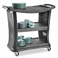 Rubbermaid® Executive Service Cart