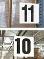 Heavy Duty Aisle Signs