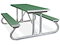 6' Aluminum Outdoor Table