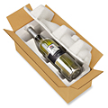 Bulk Pack Pulp Wine Shippers
