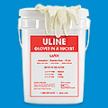 Uline Gloves in a Bucket