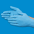 Ansell TNT® Blue Nitrile Gloves