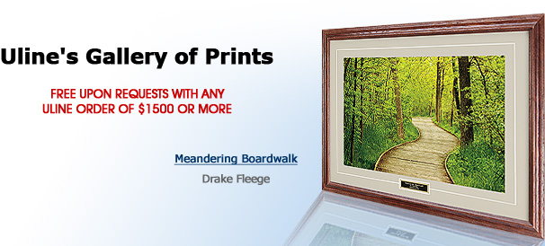 Uline's Gallery of Prints - Free upon request with any Uline order of $1500 or more - North Lake - Paul Sundberg
