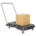 Rubbermaid® Triple Trolley Cart