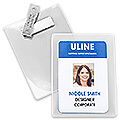 Magnetic Name Badge Holder