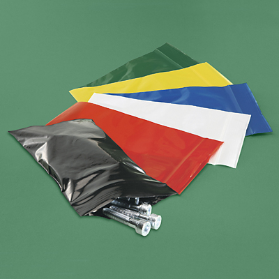 Colored Zip Lock Poly Bags