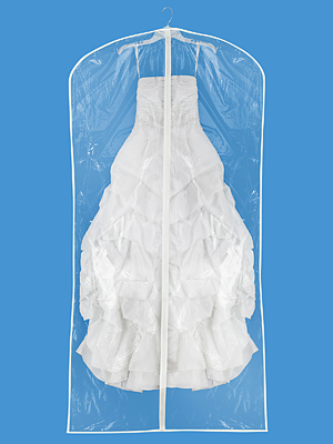 Buy clear garment bags - Zippered Garment Bags - Clear 36 x 72""