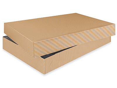 Buy apparel boxs - 2-piece Kraft Apparel Boxes 15 x 9 1/2 x 2""
