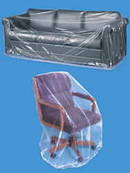 Furniture Bags Clear Furniture Covers In Stock Uline