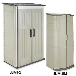 Rubbermaid storage shed in stock uline for Caseta jardin leroy merlin