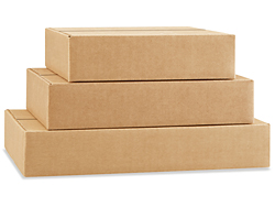 Flat Shipping Boxes in Stock - ULINE