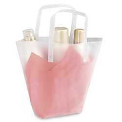 trapezoid gift bags trapezoid gift bag in stock uline