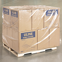 "48 x 36 x 80"" 2 Mil Clear Pallet Covers"