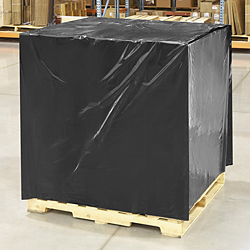 "48 x 40 x 100"" 2 Mil Black Pallet Covers"
