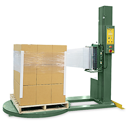 "52 x 52 x 80"" Semi-Automatic Stretch Wrap Machine"