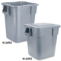 Rubbermaid Square Brute Containers In Stock Uline