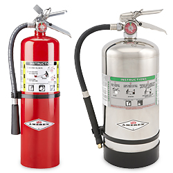 What Type of Fire Extinguisher Should Be Used on an Oil or Grease
