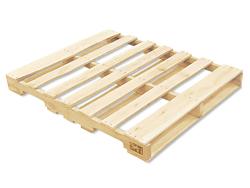Heat treated gma wood pallet 48 x 40 quot h 1260