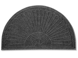 4 x 2.3' Half Oval Waterhog<sup>™</sup> Grand Premier Carpet Mat