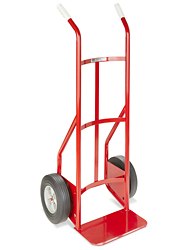 Dual Handle Steel Hand Truck - Solid