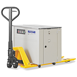 Low Profile/Narrow Fork Uline Pallet Truck - 48 x 21""