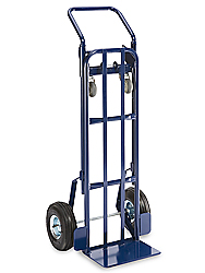 Convertible Steel Hand Truck - Pneumatic