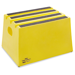 Polyethylene Step Stool 1 Steps H 2791 Uline