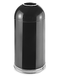 Domed Open Top Receptacle, 15 Gallon
