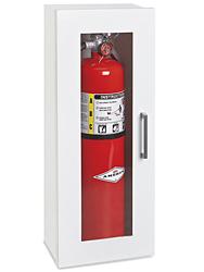 Fire extinguisher cabinet 10 lb standard h 4872