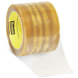 "3M 610 Cellophane Film Tape - 3"" x 72 yards"