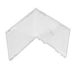 Unassembled Jewel Case Kits - Clear Trays