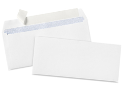 "4 1/8 x 9 1/2"" #10 Self-Seal White Business Envelopes"