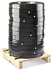 "5/8"" x .015"" x 3,297' Standard Grade Steel Strapping - Skid Lot"