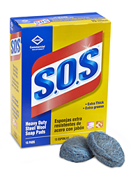 S.O.S<sup>®</sup> Steel Wool Soap Pads