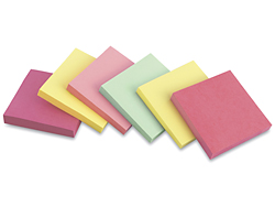 3M Post-it<sup>®</sup> Notes - Pastels