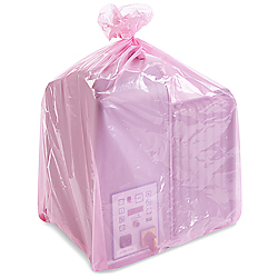 "24 x 20 x 48"" 2 Mil Gusseted Anti-Static Poly Bags"