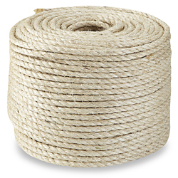Twisted Sisal Rope 3 8 X 500 39 S 18523