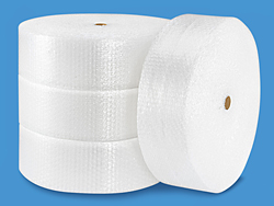 "5/16"" Bubble Wrap<sup>®</sup> Strong Bubble 12"" x 375' Roll - perforated every 12"""