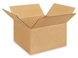 "10 x 10 x 6"" Corrugated Boxes"