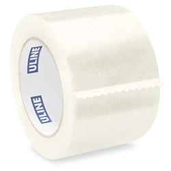 "3"" x 110 yards Clear 2 Mil Uline Industrial Tape"