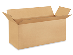 "20 x 8 x 8"" Long Corrugated Boxes"