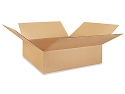 "24 x 24 x 7"" Corrugated Boxes"
